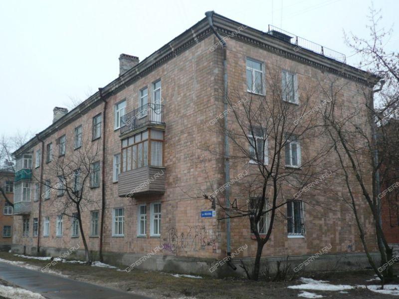 трёхкомнатная квартира на улице Василия Иванова дом 4