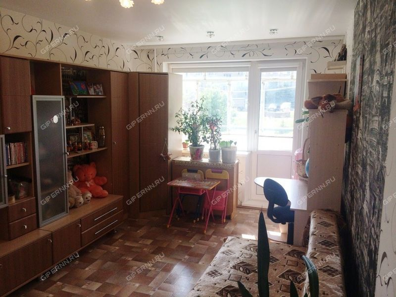 двухкомнатная квартира на улице Аллея Ильича дом 49 город Павлово