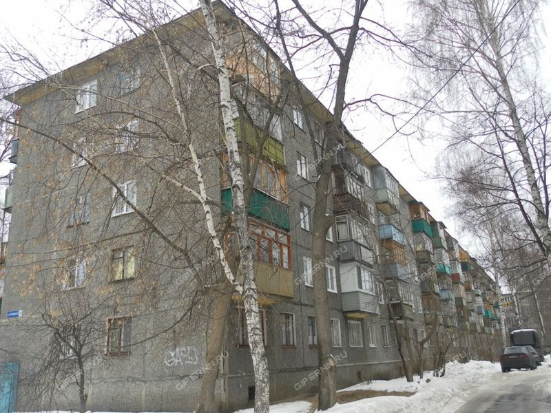 однокомнатная квартира на улице Станиславского дом 10