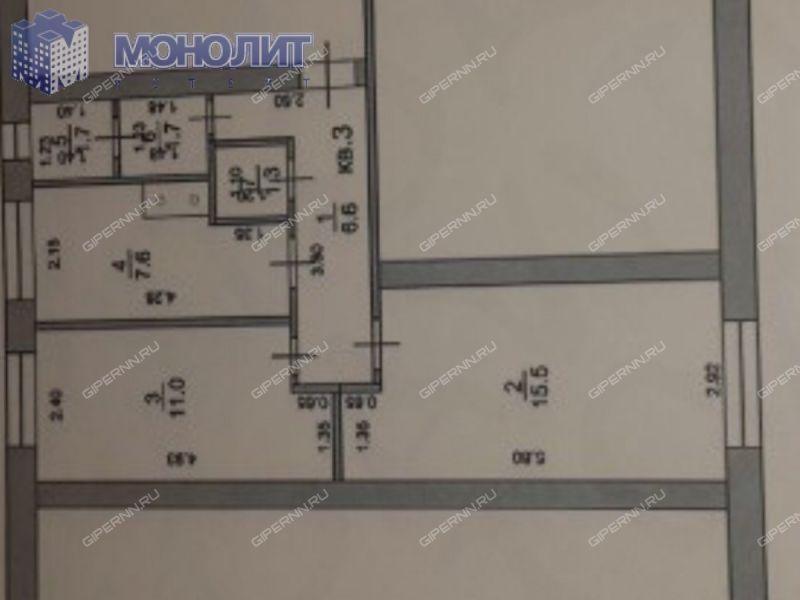 двухкомнатная квартира на 8-й Квартал дом 2 посёлок Память Парижской Коммуны